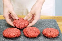 Stock Photo of cooking with ground beef