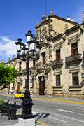 state government palace in guadalajara, jalisco, mexico - stock photo