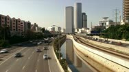 Highway day time-lapse Stock Footage