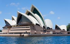 Sydney Opera House, NSW Australia - stock photo