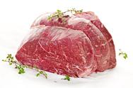 Stock Photo of raw beef roast