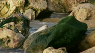 Stock Video Footage of Sea waves over the rocks
