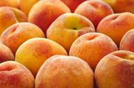 Stock Photo of peaches background