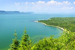 Lake superior Stock Photos