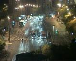City night traffic Time-Lapse Stock Footage
