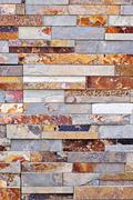 stone veneer background - stock photo