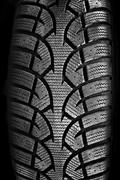tire tread closeup - stock photo