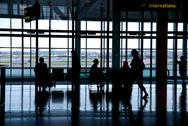 Stock Photo of people airport
