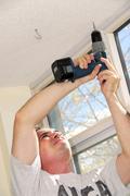 handyman - stock photo