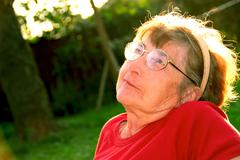 Stock Photo of elderly woman