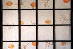 Stock Photo of rice paper screen