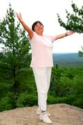 Stock Photo of carefree woman