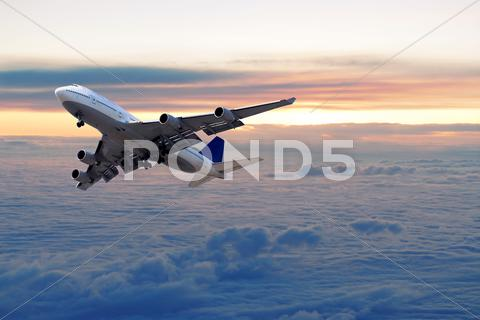 Stock photo of above the clouds