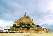 Stock Photo of mont saint michel