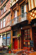 Stock Photo of street in rennes