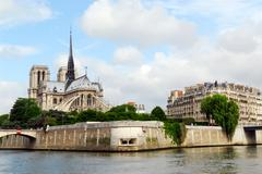 Stock Photo of notre dame