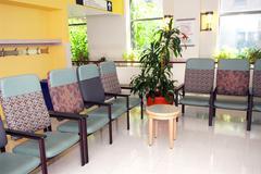 Hospital waiting room Stock Photos