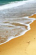 Sandy ocean beach Stock Photos