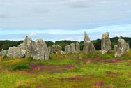 Stock Photo of megalithic monuments in brittany
