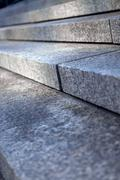 stone steps - stock photo