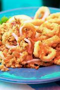 calamari - stock photo