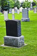 Stock Photo of old cemetery