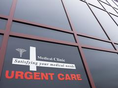 urgent care building - stock photo
