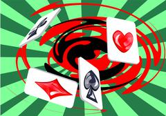 Games of chance Stock Illustration