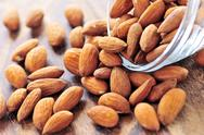 Stock Photo of almonds