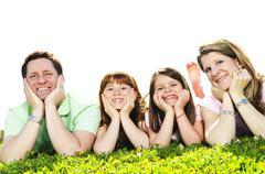 Stock Photo of happy family