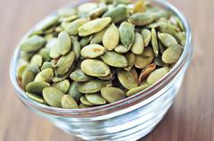Stock Photo of pumpkin seeds