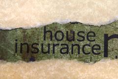 House insurance concept Stock Photos