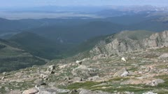 High Country Mountain Goats Stock Footage