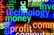 Technology money profit Stock Illustration