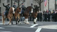 Inaugural Parade Stock Footage