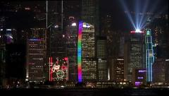 A Symphony of Lights show. Stock Footage