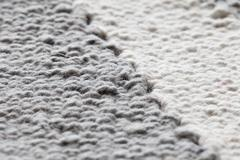Textile with white nad gray colors Stock Photos