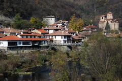 asenov district of veliko turnovo - stock photo