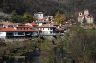 Stock Photo of asenov district of veliko turnovo