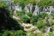 Stock Photo of view of emen canyon in bulgaria