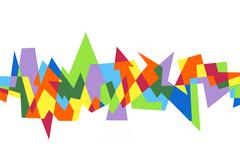 Abstract geometric pattern Stock Illustration