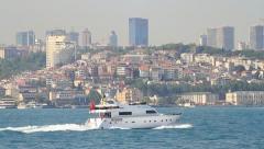 Leisure yacht Stock Footage
