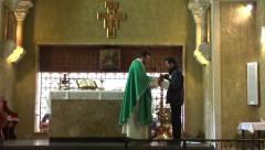 Franciscan church monastery Stock Footage