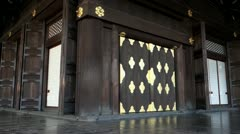 Higashi Honganji Founders Hall Stock Footage
