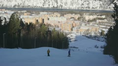 Ski Resort Divnogorsk 03 - stock footage