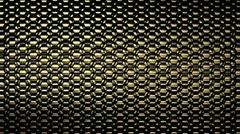 Metallic Scale Loop - Gold II Stock Footage