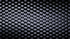Metallic Scale Loop - Silver I Stock Footage