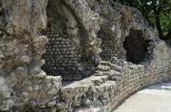Cimiez arenas roman ruin in nice france Stock Photos