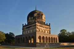 Qutub shahi tombs Stock Photos