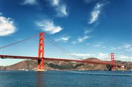Stock Photo of golden gate bridge in san francisco